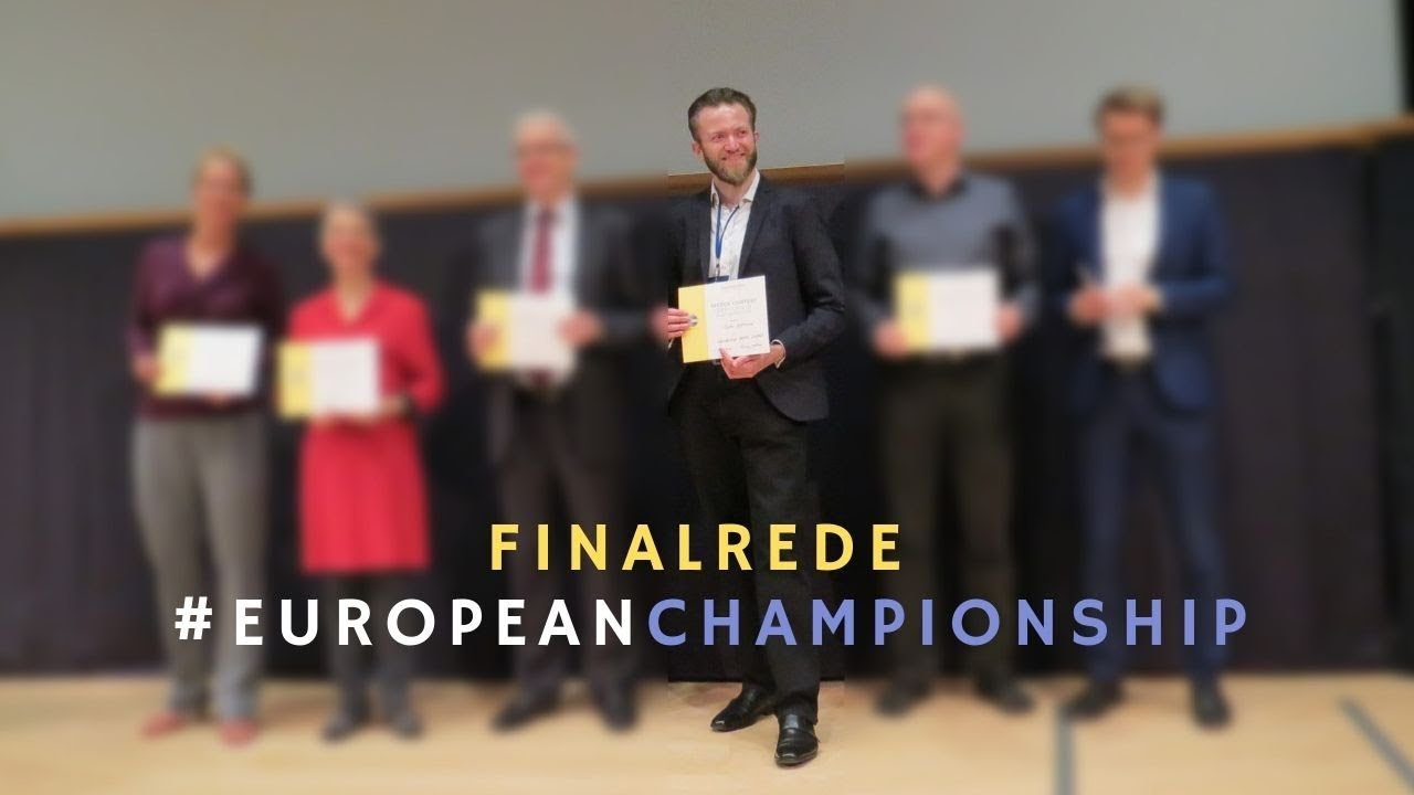 Storytelling bei den European Championships (Toastmasters)