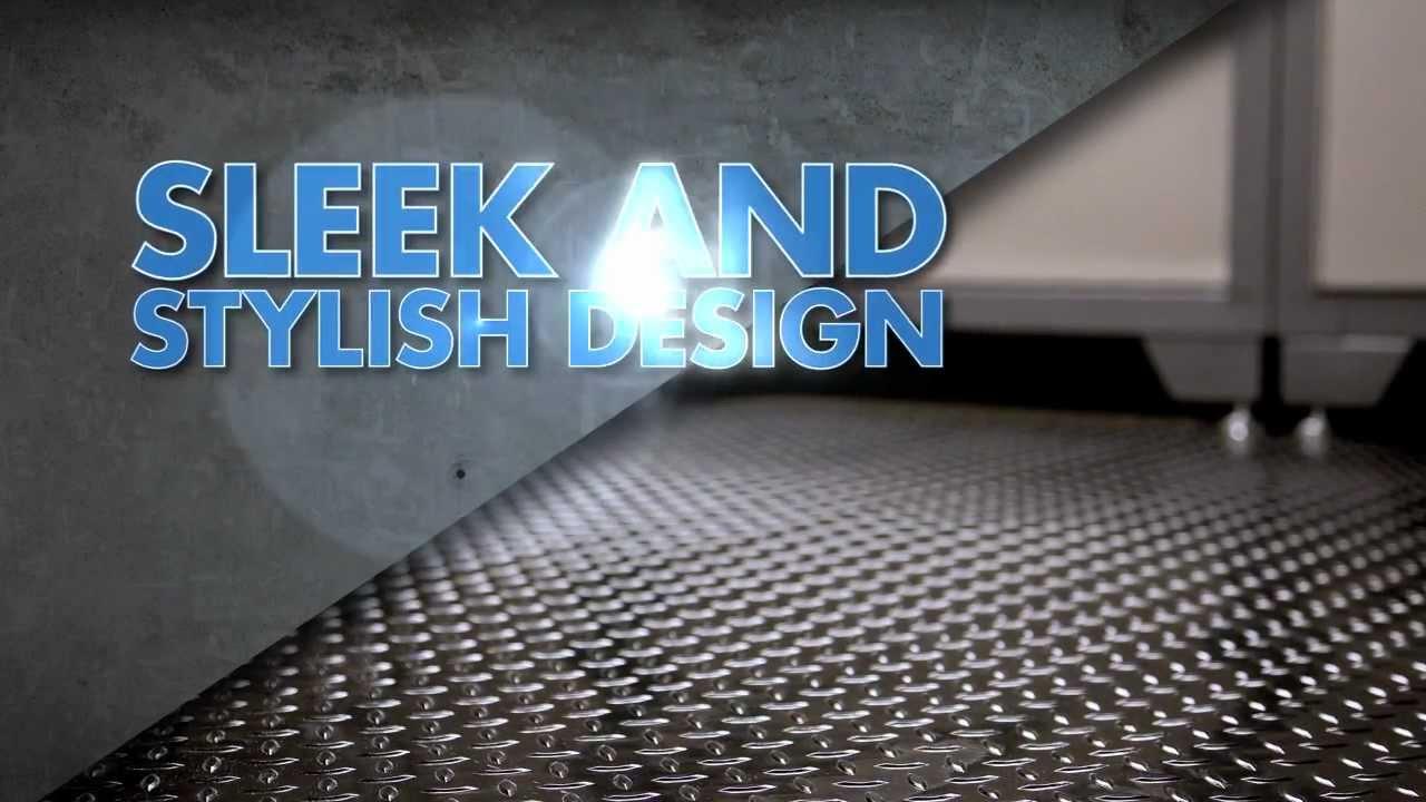 Newage Versaroll Pvc Garage Roll Flooring Youtube