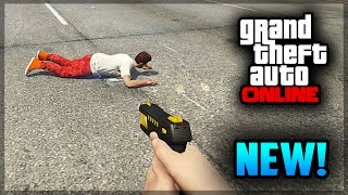 GTA 5 Online Stun Gun How To Get Easy! (GTA 5 PS4 Gameplay)