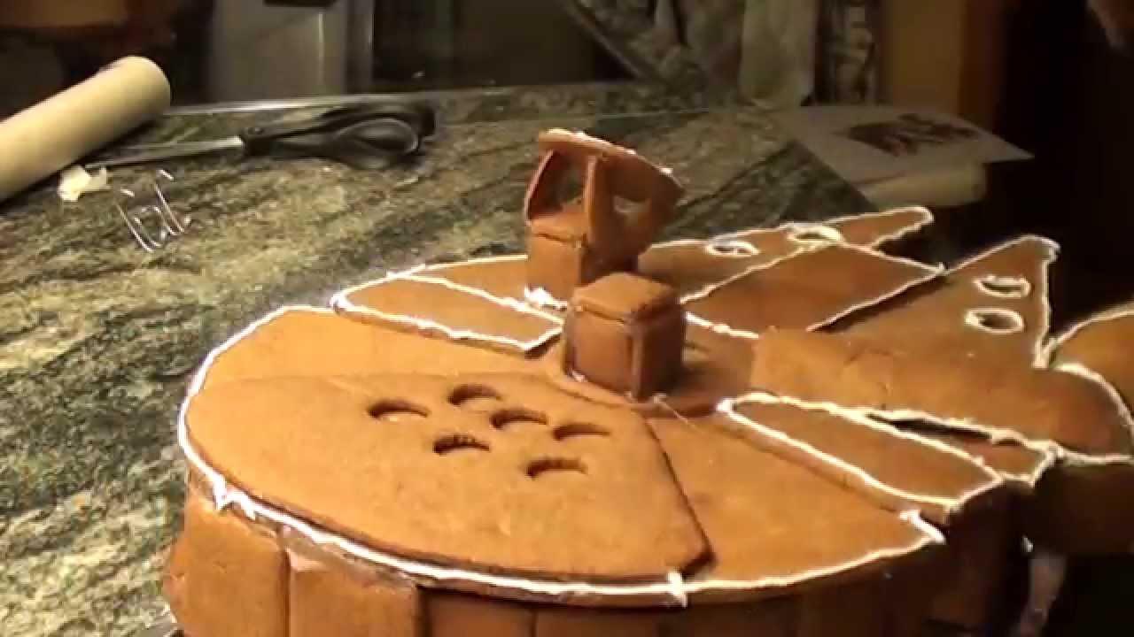 Easy Millenium Falcon Cake
