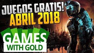 GAMES WITH GOLD: JUEGOS GRATIS CONFIRMADOS XBOX 360 Y ONE ABRIL 2018