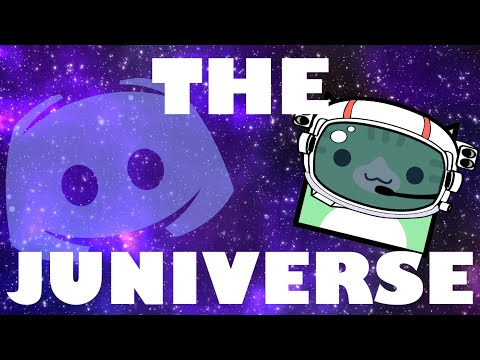 NEW PUBLIC DISCORD SERVER: THE JUNIVERSE!! | Geometry Dash Juniper
