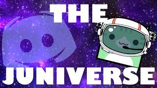 NEW PUBLIC DISCORD SERVER: THE JUNIVERSE!! | Geometry Dash Juniper