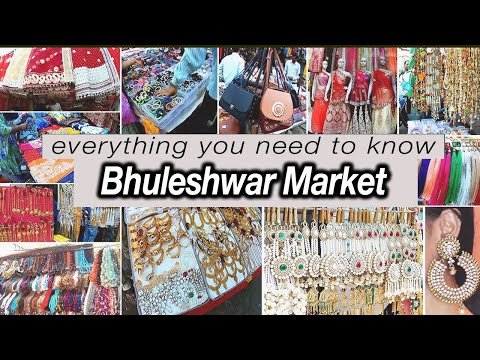 Bhuleshwar Market | Biggest Wholesale Market In Mumbai | Everything You Need Know