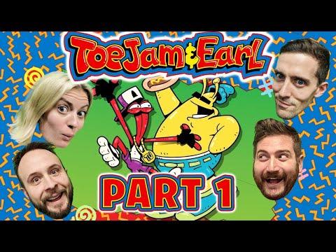 ToeJam & Earl Part 1 - Funhaus Gameplay