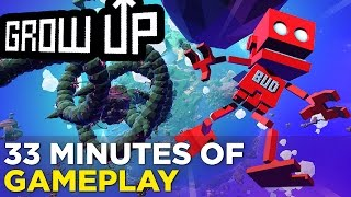 33 Minutes of GROW UP Gameplay - Grow Home