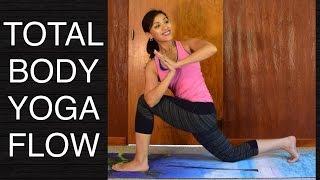 Video 30 Minute Total Body Vinyasa Flow Yoga Class download MP3, 3GP, MP4, WEBM, AVI, FLV Maret 2018