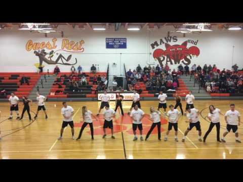 Seniors Boys Dance Fallston High 2017