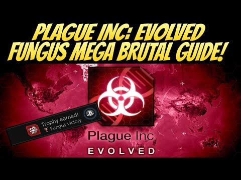 Plague Inc: Evolved Fungus Mega Brutal Guide! BEST METHOD