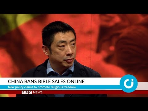 China bans Bible sales online