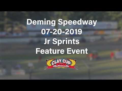 Jr Sprint FEATURE| 07-20-19 | Deming Speedway