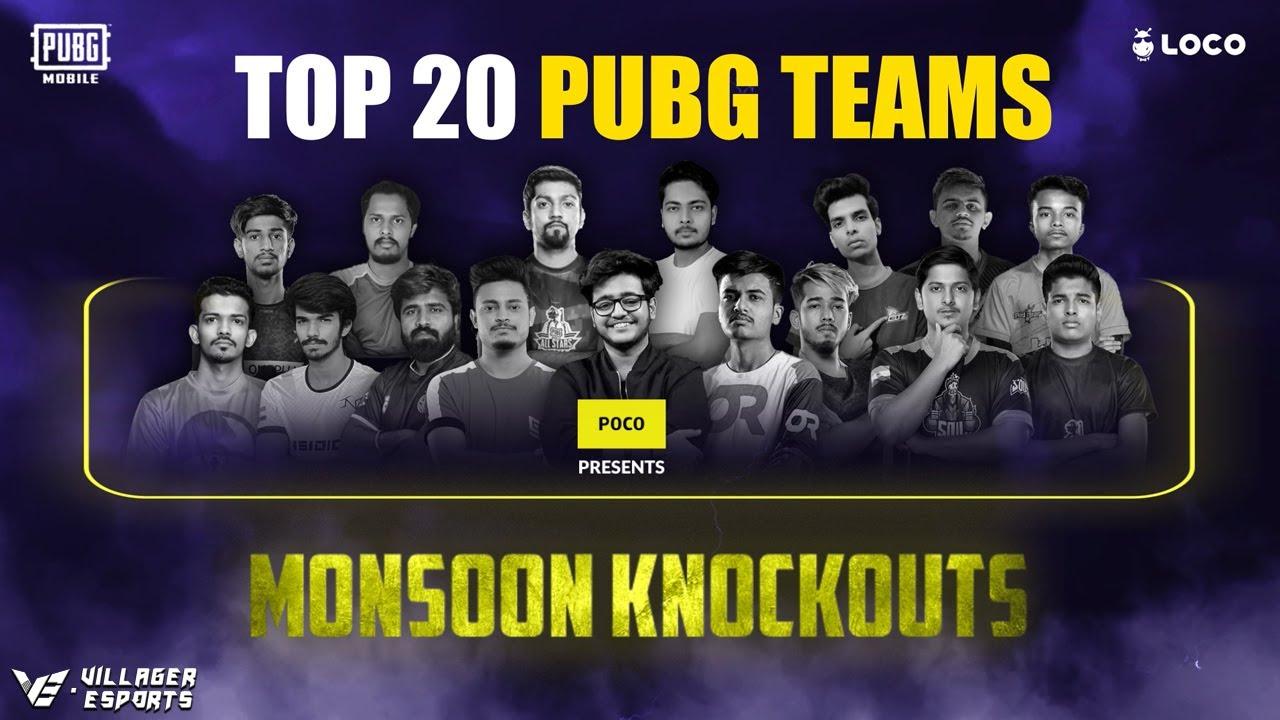 [Day 3] Loco PUBG Mobile Monsoon Knockouts • Poco x Loco x Villager Esports