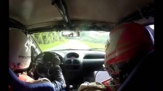 Onboard Luccas Arnone/Felipe Costa - SS2 Morretes 1 - Rally de Morretes 2016