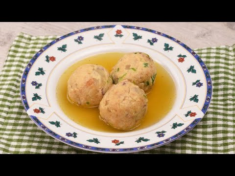 Canederli balls the original italian recipe ready in no-time