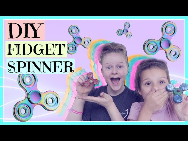 DIY FIDGET SPINNER!