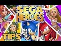 How to Play Sega Heroes and Not Get Stuck