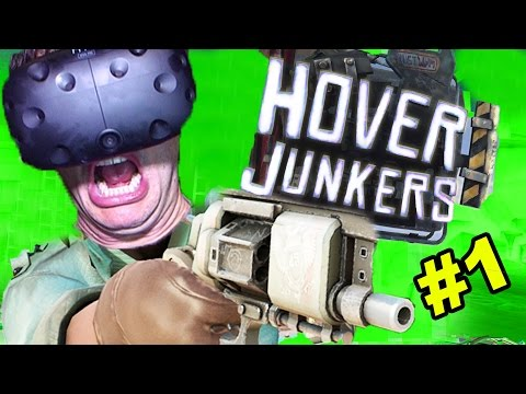 BEST VR MULTIPLAYER SHOOTER EVER: Hover Junkers (HTC Vive Virtual Reality Game)