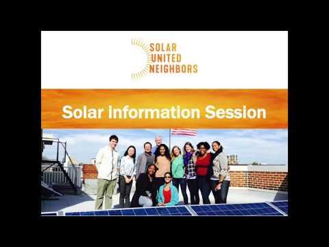 Solar co-op info session webinar
