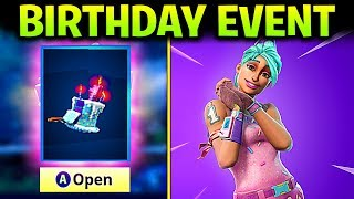 FORTNITE BIRTHDAY CHALLENGES EVENT - GET FREE BACK BLING, SPRAY PAINT AND EMOTICONS