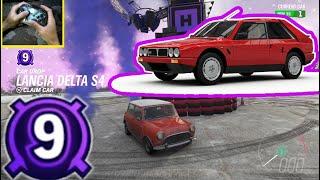 Forza Horizon 4 The Eliminator - Car Drop Level 9 Lancia Delta S4