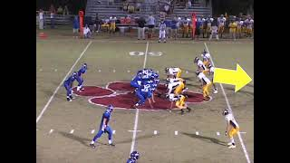Joseph Grosso senior year end of season high school football highlights Class of 2010