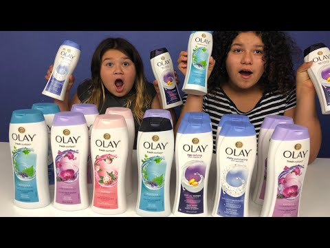 Don't Choose the Wrong Body Wash Slime Challenge