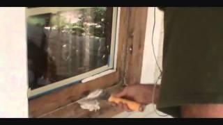 reglazing a 100 year old window