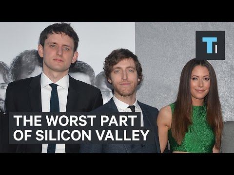 """Silicon Valley"" cast on the worst part of Silicon Valley"