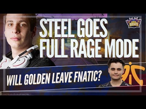 Steel Rages During FACEIT Match, Golden to Stay on Fnatic, WESG Recap and More!