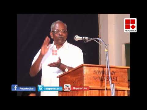 MM Mani's Controversial Speech in Full Version; Mani blames Journalists │Reporter Live
