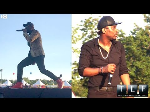 Promoters Diss Busy Signal For R Kelly, Unplug Busy Mic While Performing..Busy Address Promoters