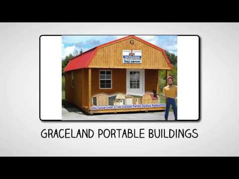 Portable Buildings Walterboro SC – Graceland Portable