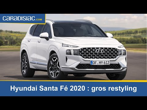 Hyundai Santa Fe (2020) : mise à jour conséquente