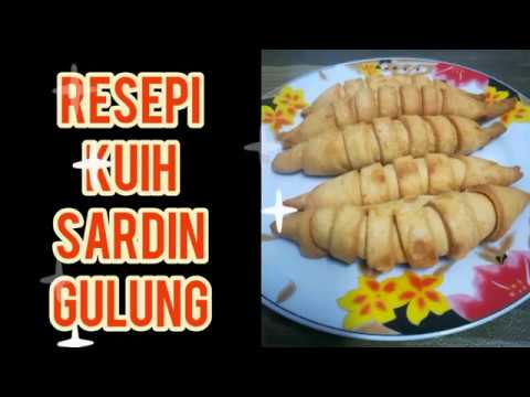 Resepi Kuih Sardin Gulung Sedap Rangup Youtube