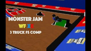 Roblox Monster Jam WF20 Freestyle Competition! (3 Trucks)