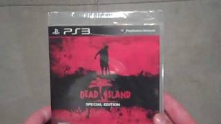 Dead Island: Special Edition Unboxing (PS3)