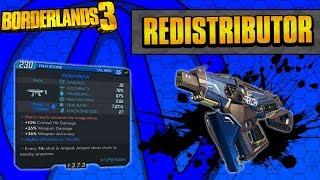 Borderlands 3 | Redistributor Unique Weapon Guide (Shock Chaining!)