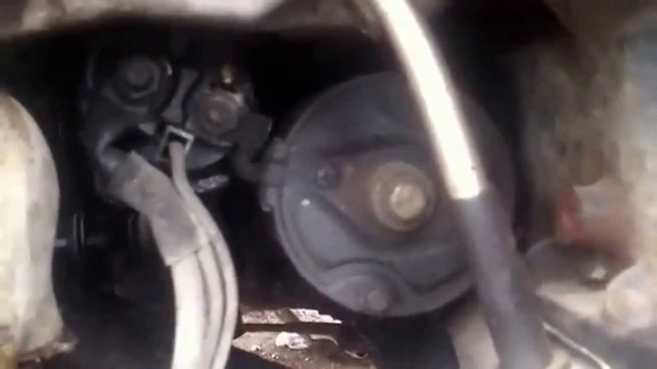 Audi A6 2.7 Starter Motor Replacement - YouTube