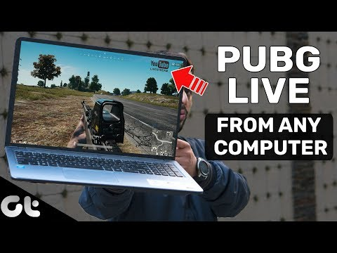 How To Live Stream PUBG Mobile On YouTube From Any Computer | GT Gaming