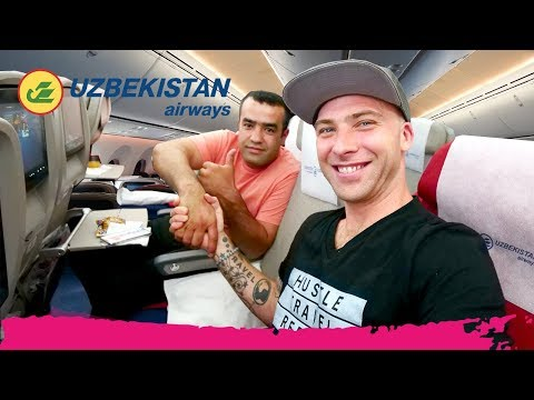 UZBEKISTAN AIRWAYS Economy Class REVIEW | New York City to T