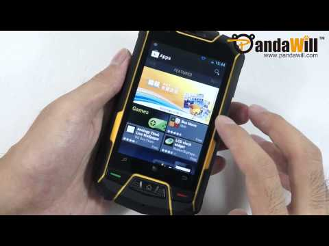 Rugged Outdoor Android Phone - IP67, ICS, GPS, Altimeter, Compass, Thermometer and More - M6