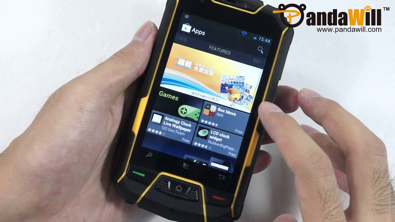 Rugged Outdoor Android Phone Ip67 Ics Gps Altimeter