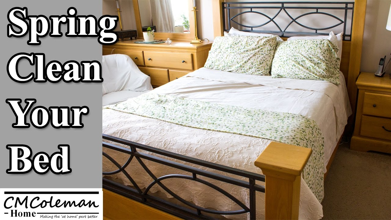 How to clean your bed - How To Spring Clean Your Bed