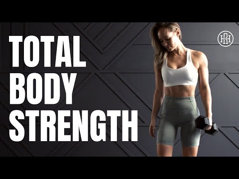 Total Body STRENGTH Workout // Dumbbell Supersets