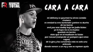 Cara A Cara   Daddy Yankee Tiraera Pa Don Omar Video Con Letra 2015
