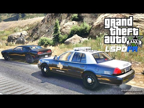 LSPDFR #526 TEXAS STATE TROOPER PATROL!! (GTA 5 REAL LIFE POLICE PC MOD)