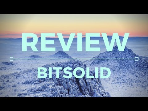 BitSolid Review - Legit Or HUGE SCAM?!
