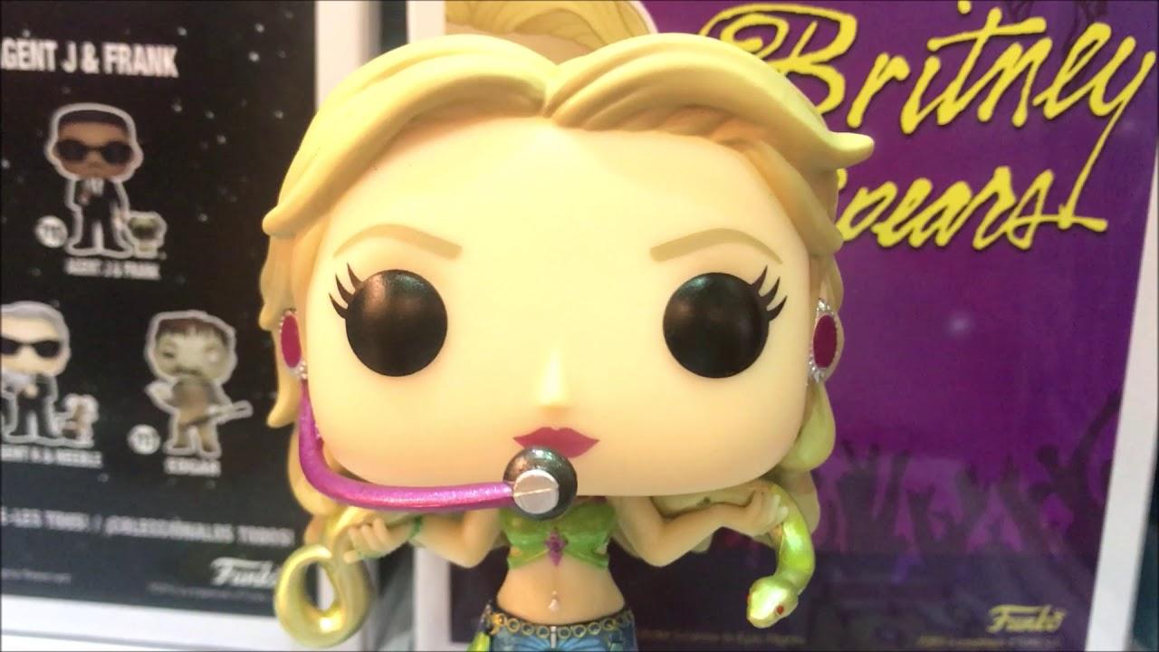 Britney Spears Metallic Funko Pop Barnes & Noble Exclusive Review