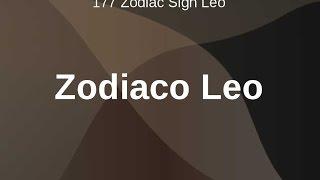 Leo el Zodiaco con Bill Donahue.