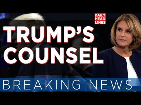 BREAKING NEWS: TRUMP COUNSEL - Who Is White House Special Counsel Ty Cobb